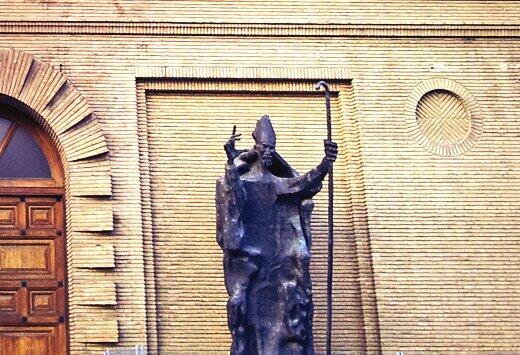 Escultura de San Valero